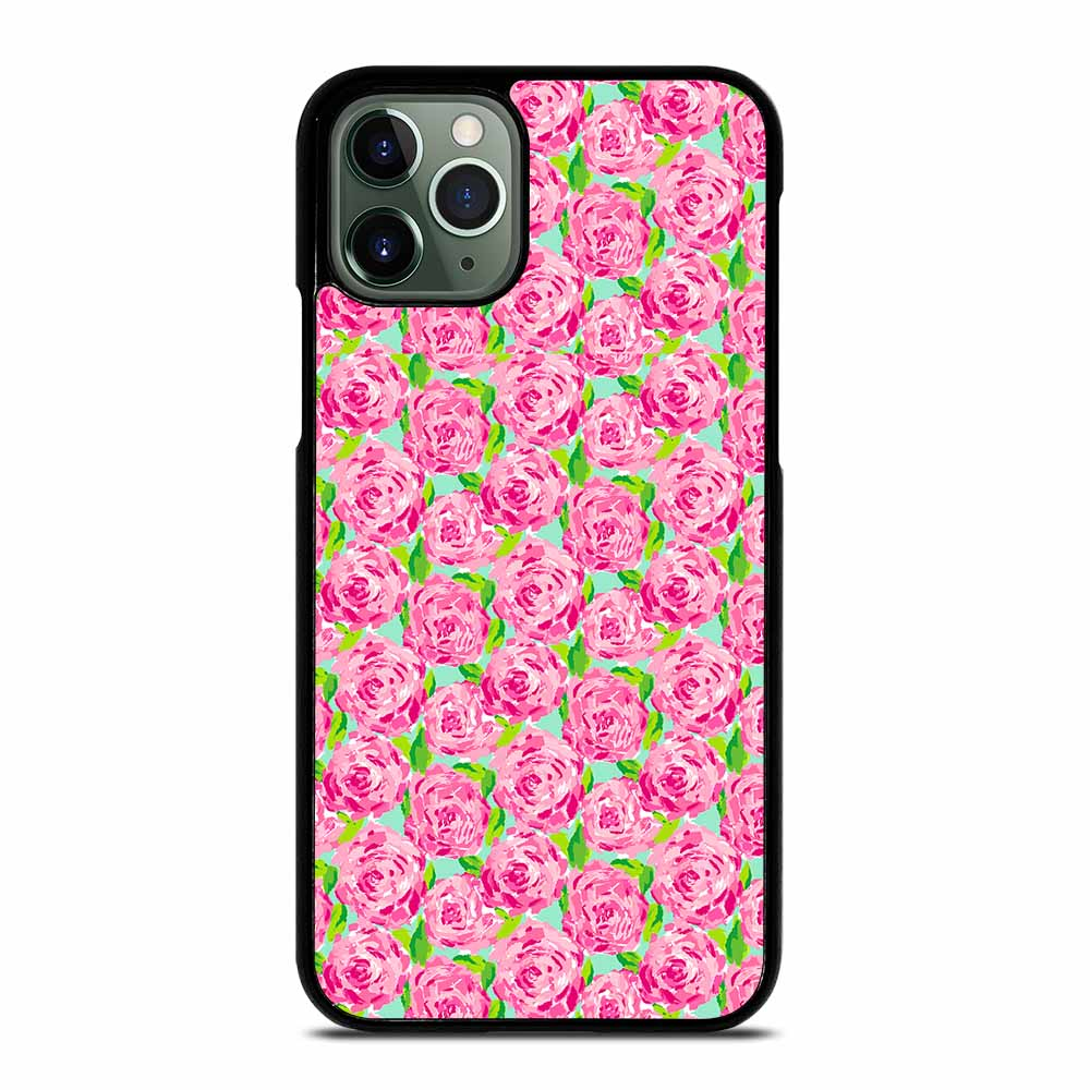 LILLY PULITZER SUMMER PINK ROSE iPhone 11 Pro Max Case