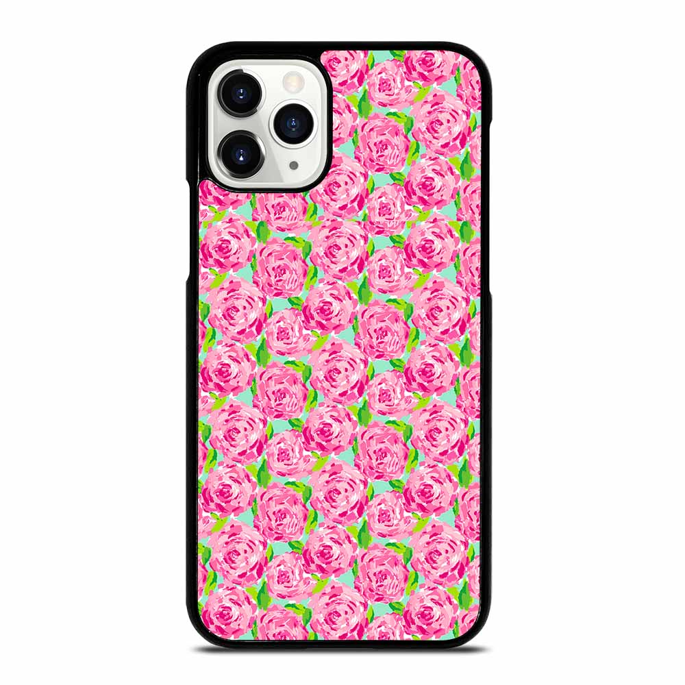 LILLY PULITZER SUMMER PINK ROSE iPhone 11 Pro Case