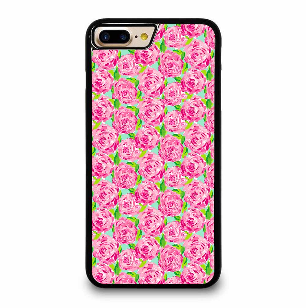 LILLY PULITZER SUMMER PINK ROSE iPhone 7 / 8 PLUS case