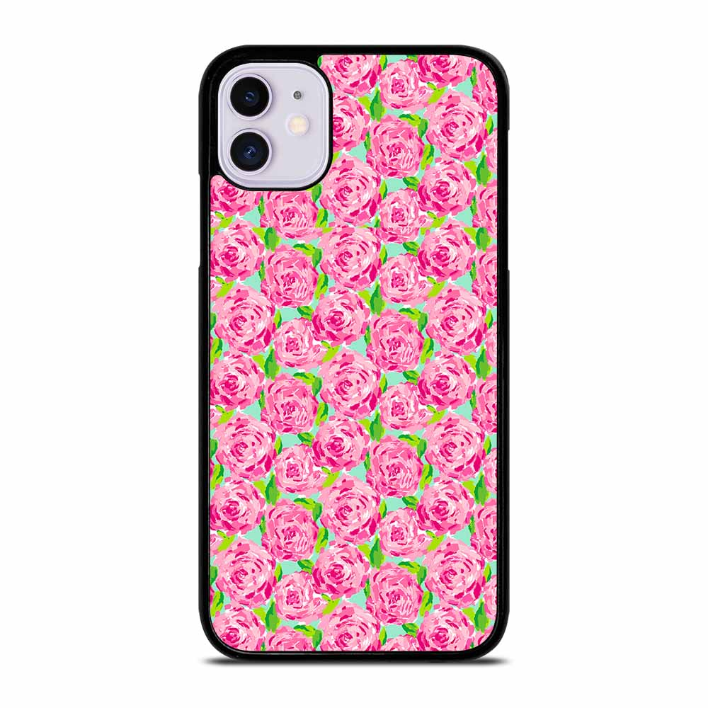LILLY PULITZER SUMMER PINK ROSE iPhone 11 Case