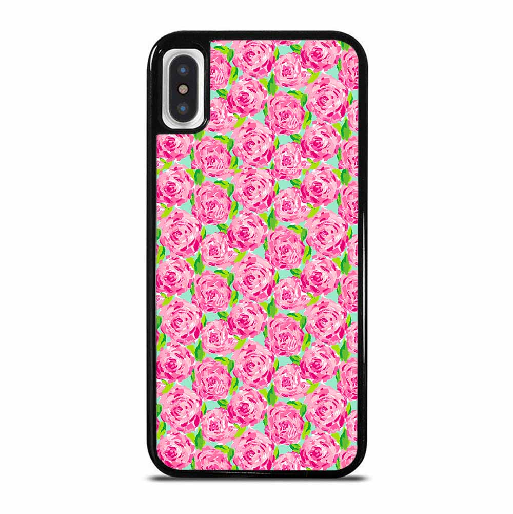 LILLY PULITZER SUMMER PINK ROSE iPhone X / XS Case