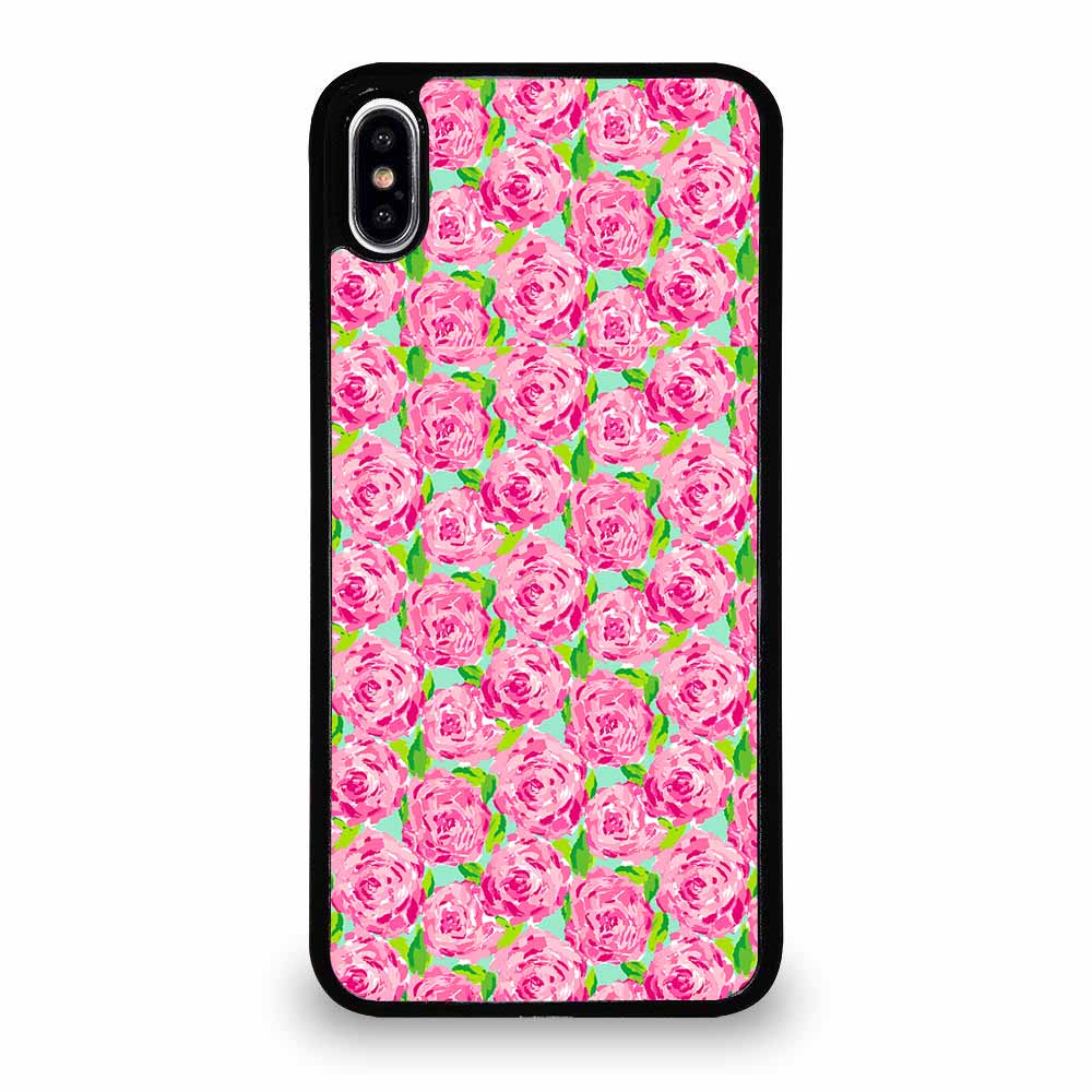 LILLY PULITZER SUMMER PINK ROSE iPhone XS Max Case