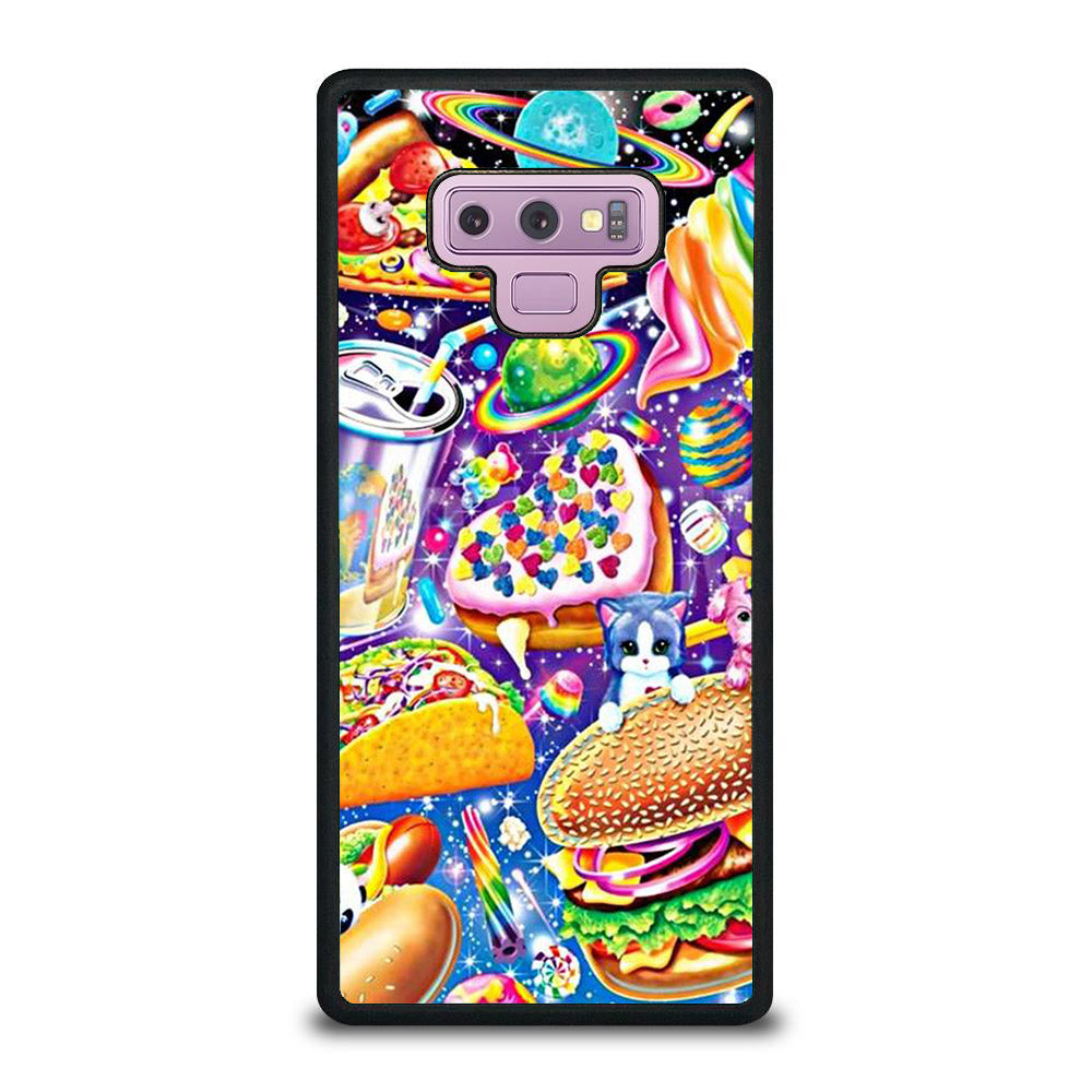 LISA FRANK FEST FOOD Samsung Galaxy Note 9 case