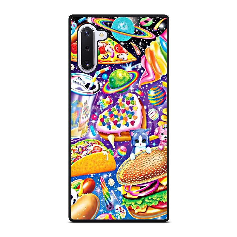 LISA FRANK FEST FOOD Samsung Galaxy Note 10 case