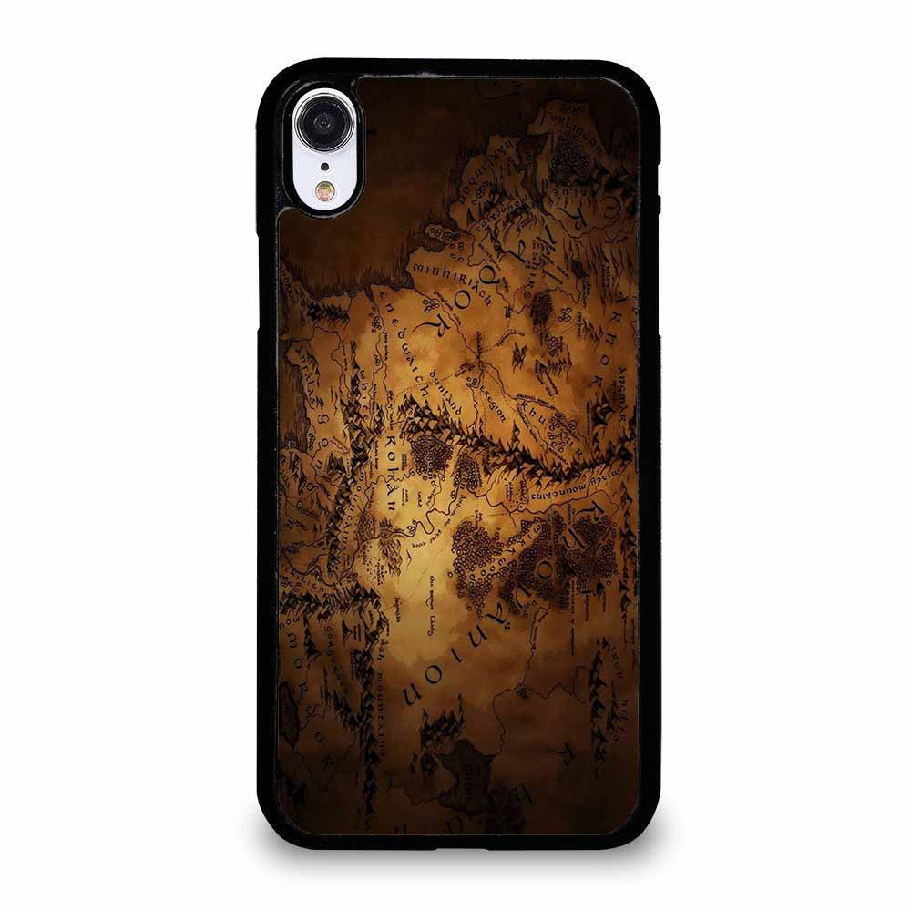 LOTR THE HOBBIT MIDDLE EARTH MAP iPhone XR Case