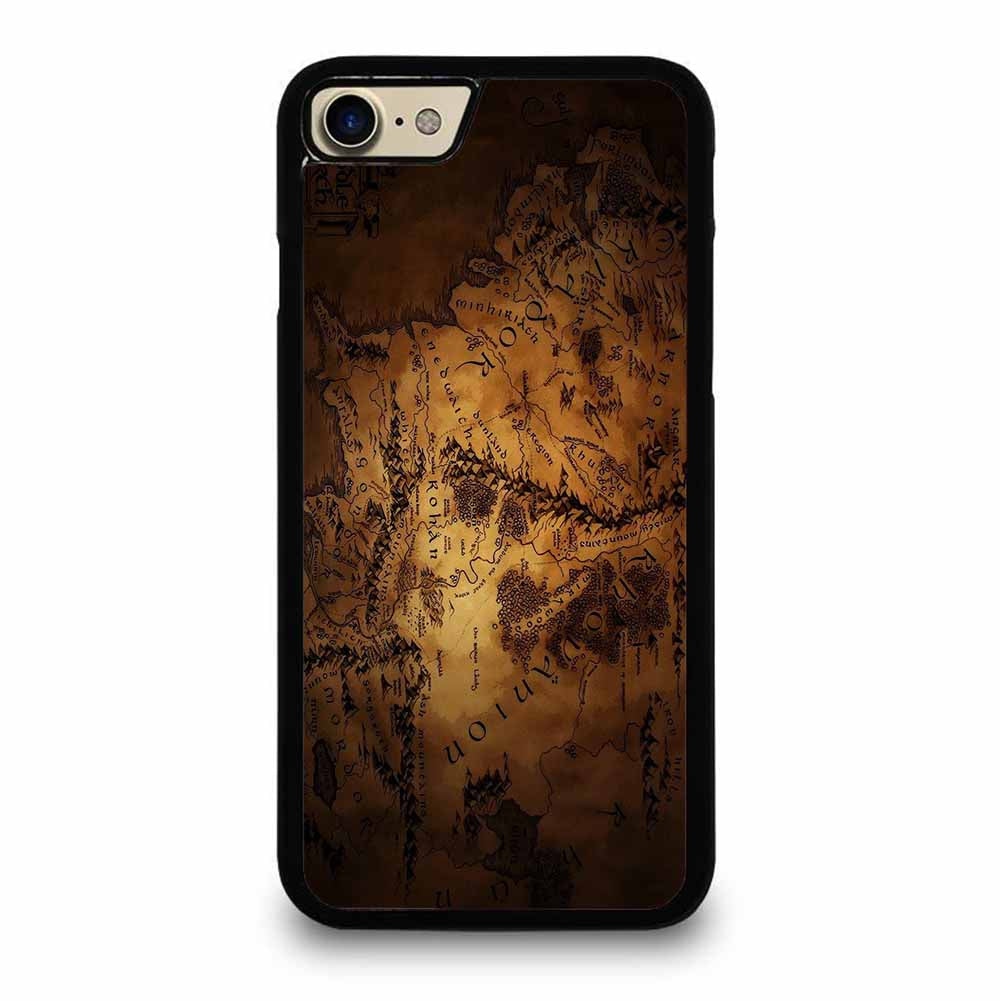 LOTR THE HOBBIT MIDDLE EARTH MAP iPhone 7 / 8 case