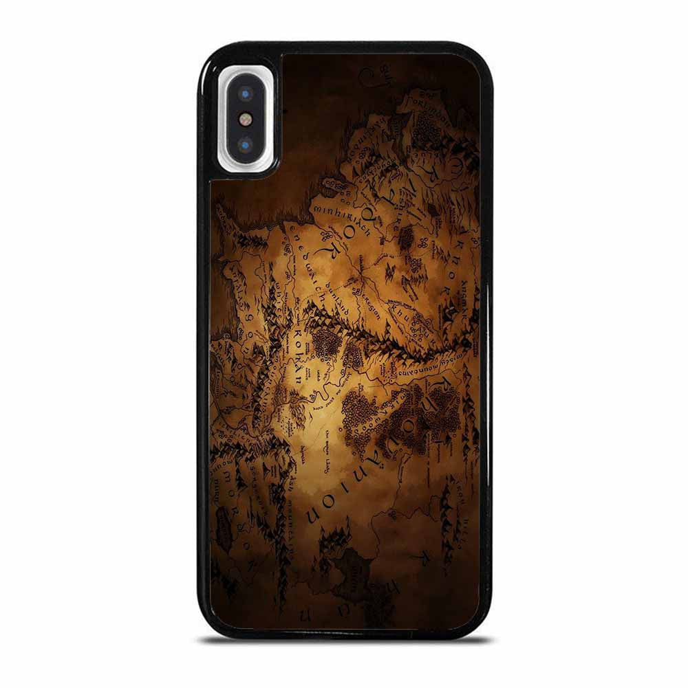 LOTR THE HOBBIT MIDDLE EARTH MAP iPhone X / XS Case