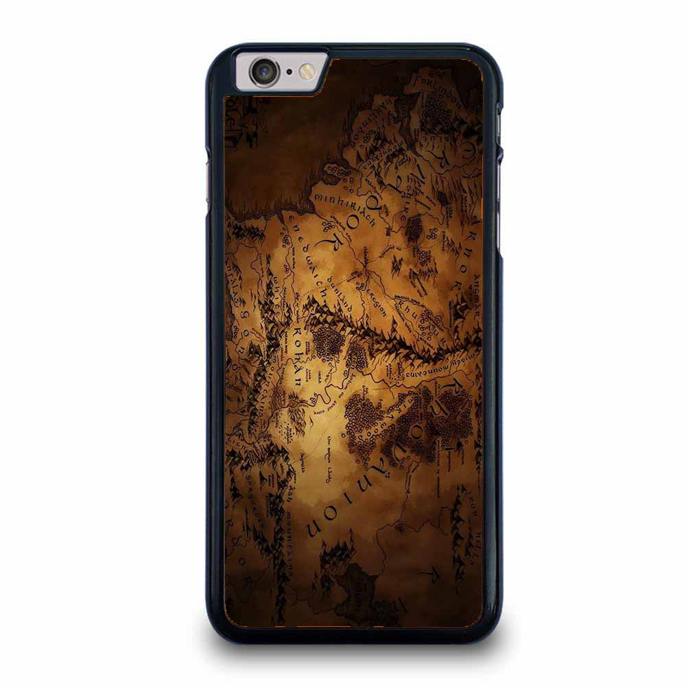LOTR THE HOBBIT MIDDLE EARTH MAP iPhone 6 / 6S Plus case