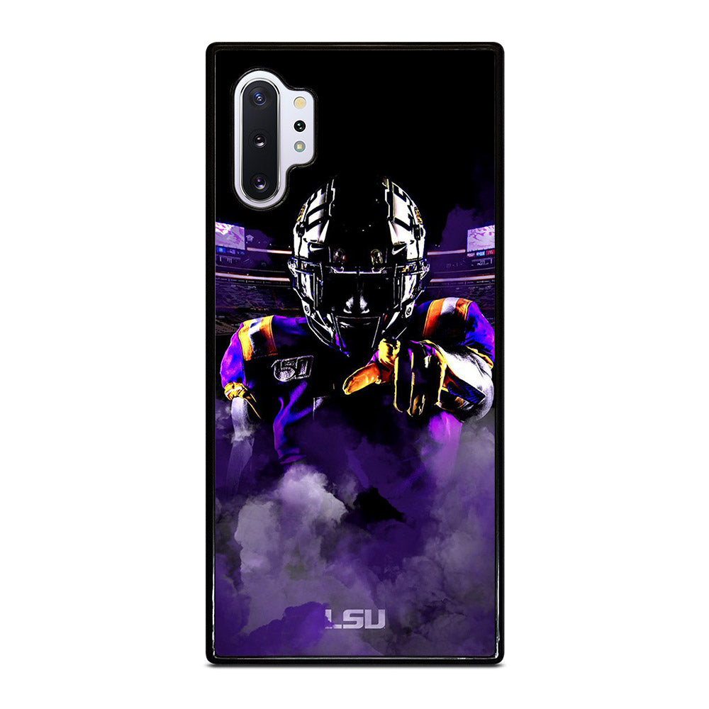 LSU FOOTBALL PURPLE Samsung Galaxy Note 10 Plus case
