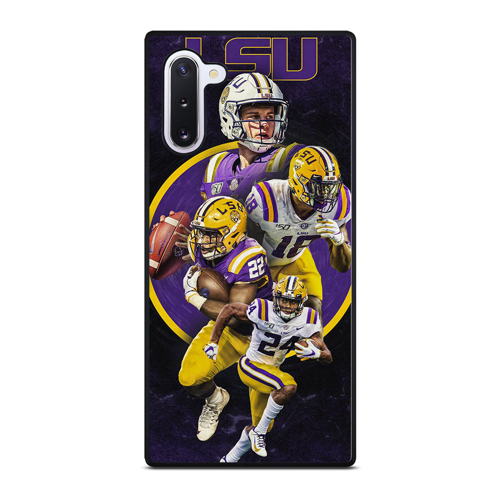 LSU FOOTBALL SQUAD Samsung Galaxy Note 10 case