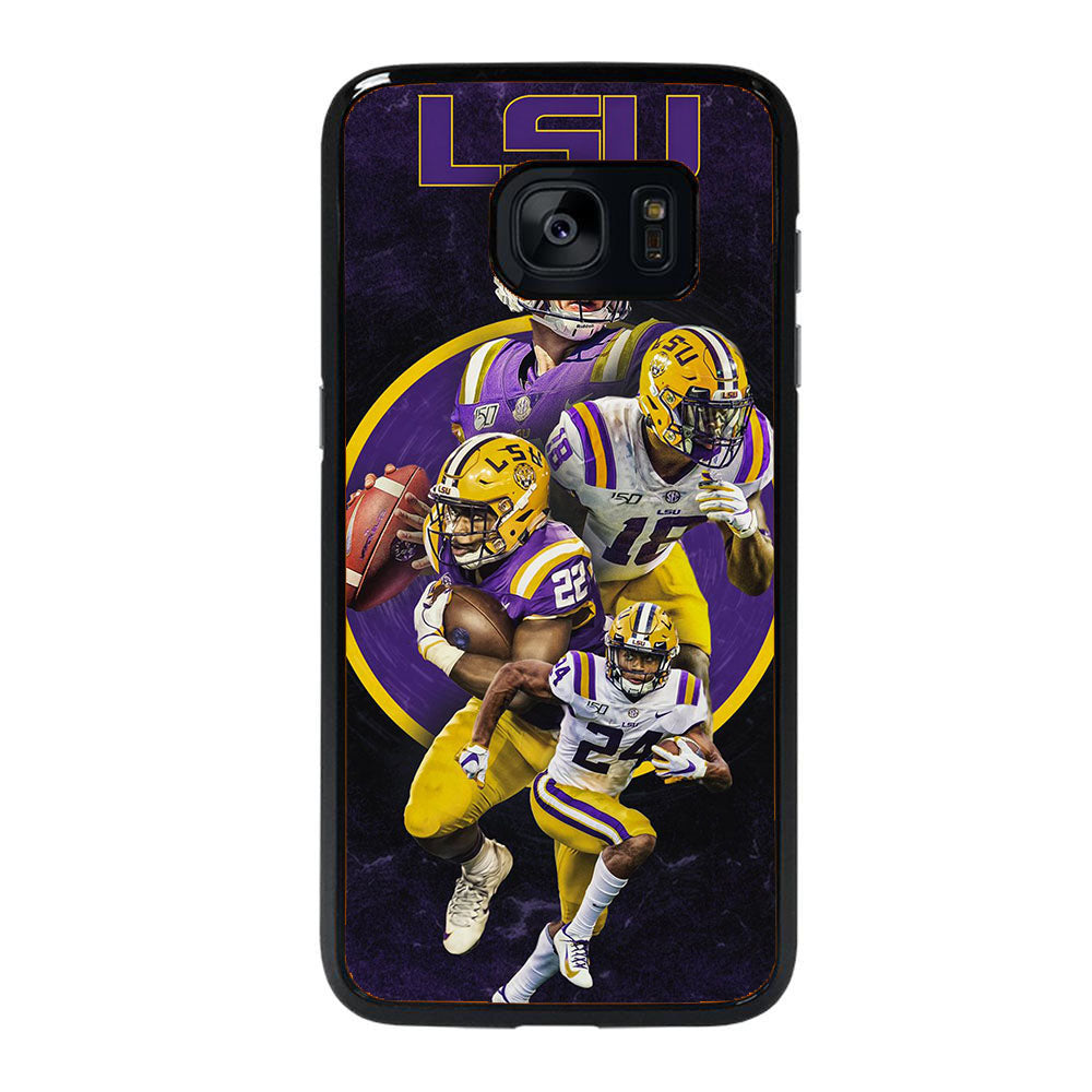 LSU FOOTBALL SQUAD Samsung Galaxy S7 Edge case