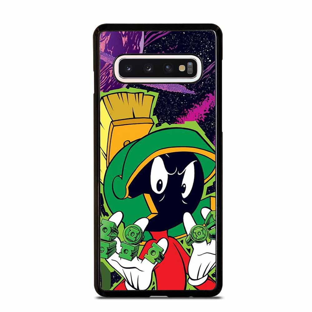 MARVIN THE MARTIAN FINGER RING Samsung Galaxy S10 Case