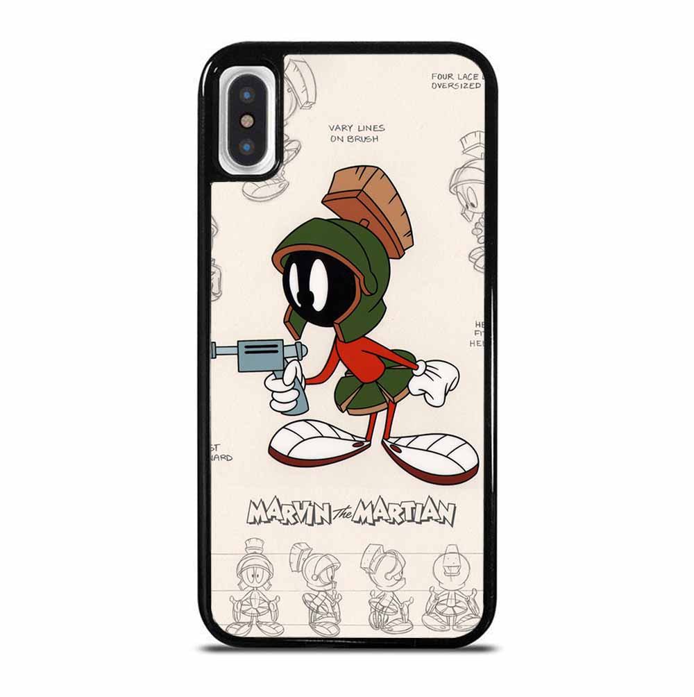 MARVIN THE MARTIAN POSTER iPhone X / XS Case