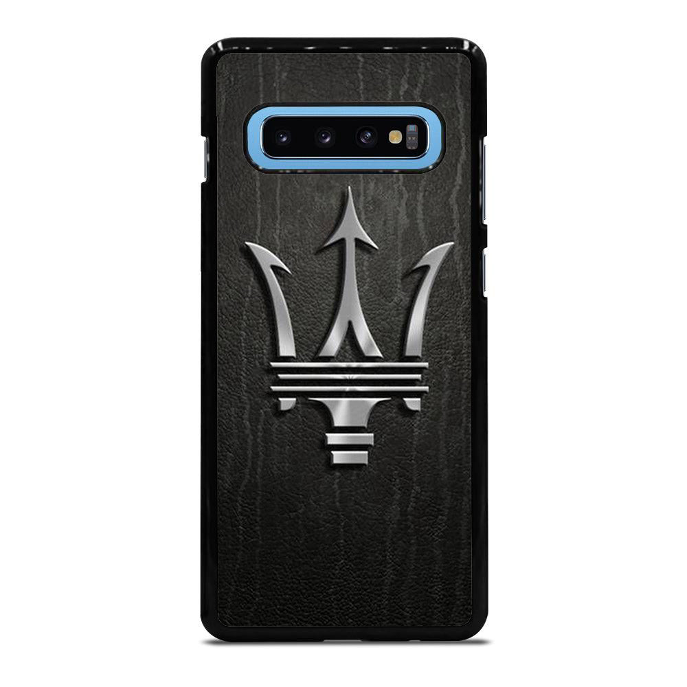 MASERATI LOGO WOOD Samsung Galaxy S10 Plus case