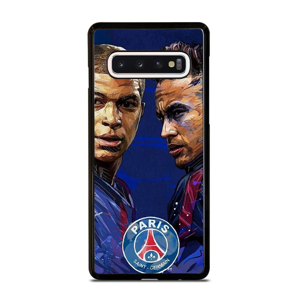 MBAPPE AND NEYMAR POPART Samsung Galaxy S10 Case