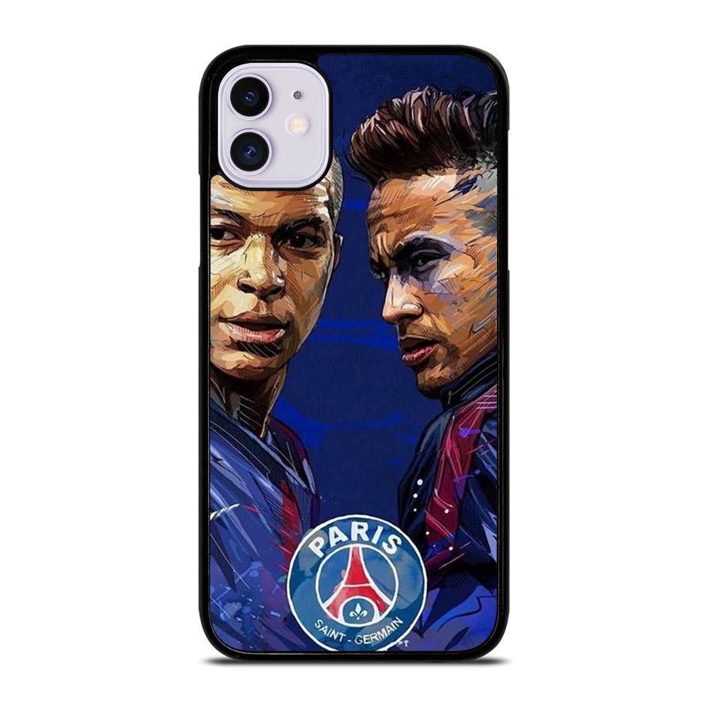 MBAPPE AND NEYMAR POPART iPhone 11 Case
