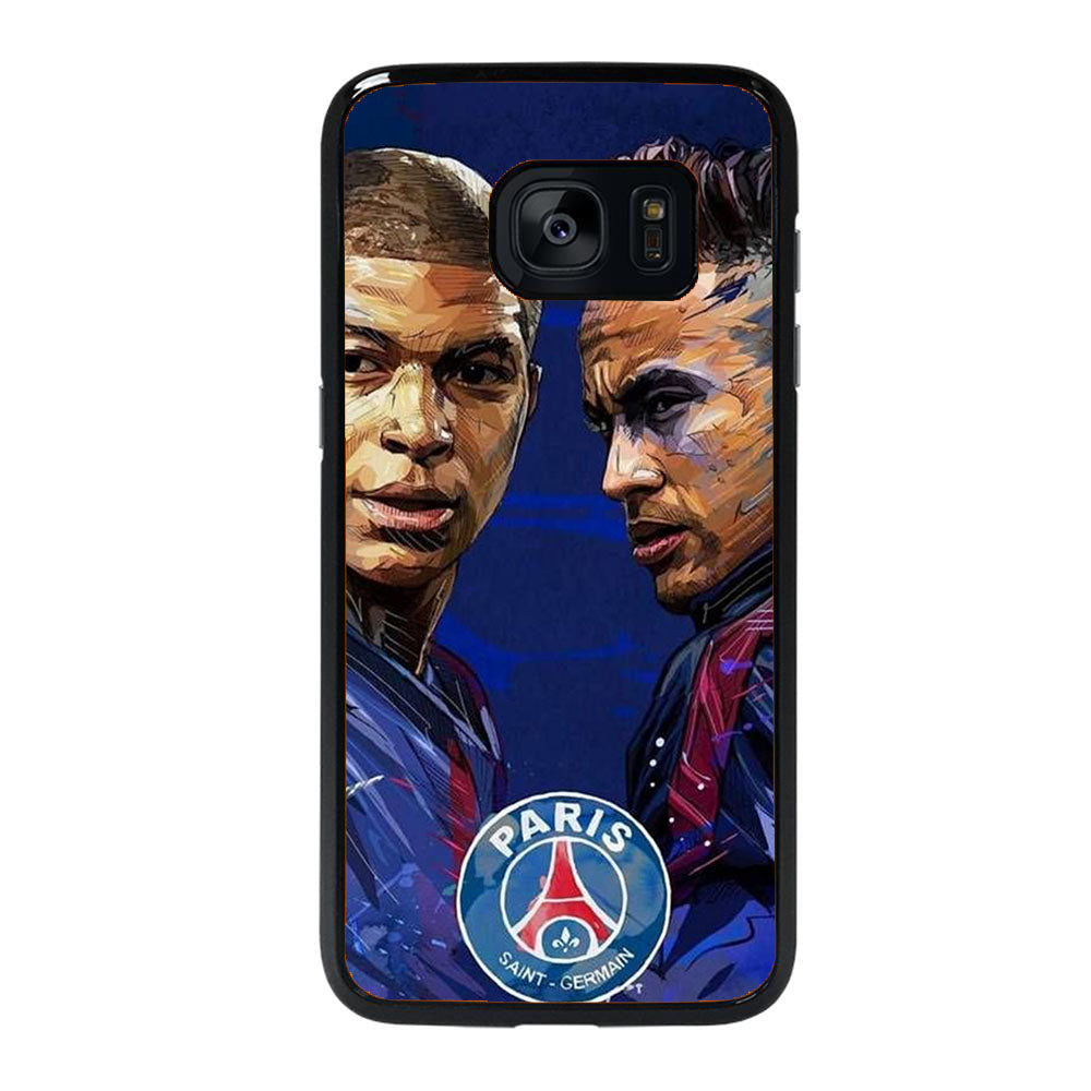 MBAPPE AND NEYMAR POPART Samsung Galaxy S7 Edge case