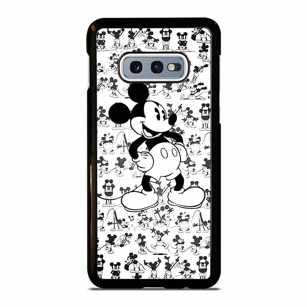 MICKY MOUSE BLACK AND WHITE Samsung Galaxy S10E case