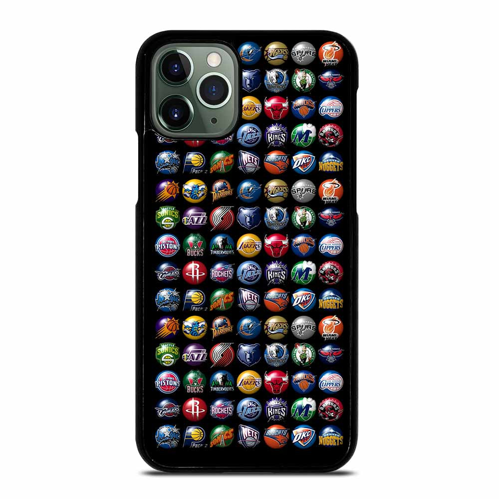NBA TEAM LOGO 3D iPhone 11 Pro Max Case