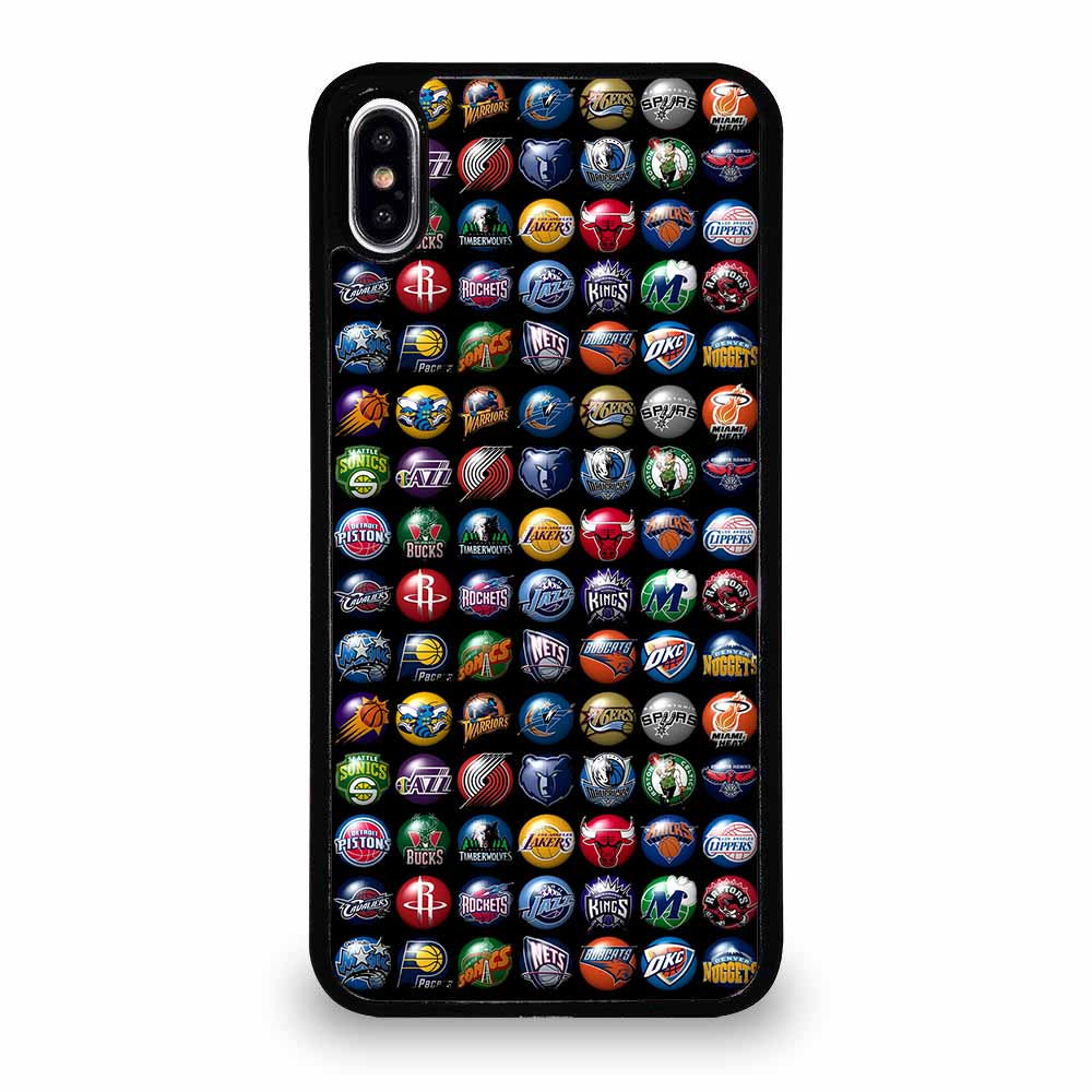 NBA TEAM LOGO 3D iPhone XS Max Case