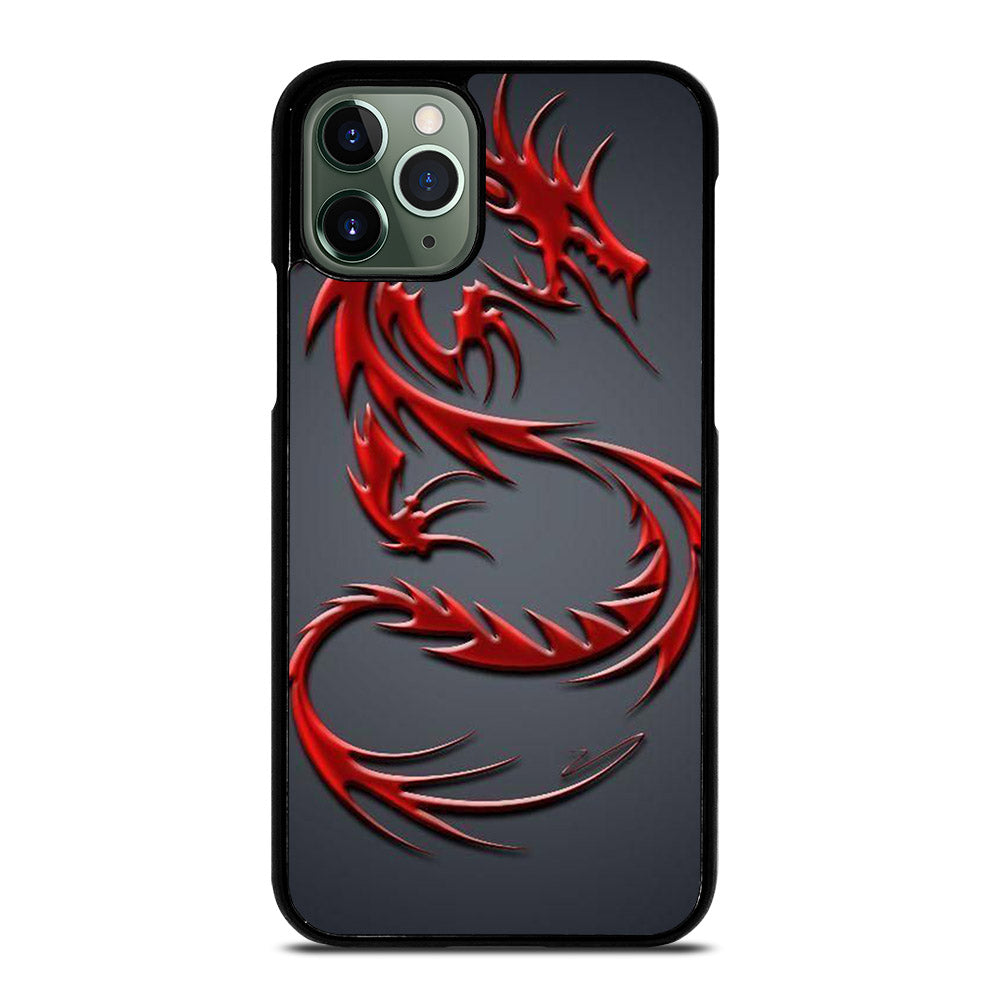 NEON DRAGONS RED iPhone 11 Pro Max Case