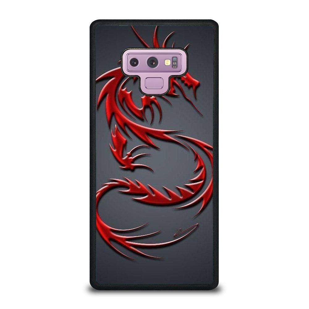 NEON DRAGONS RED Samsung Galaxy Note 9 case