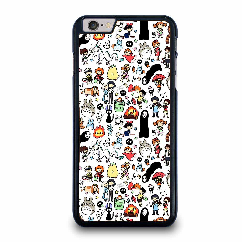 NEW GHIBLI CHARACTERS TOTORO iPhone 6 / 6S Plus case