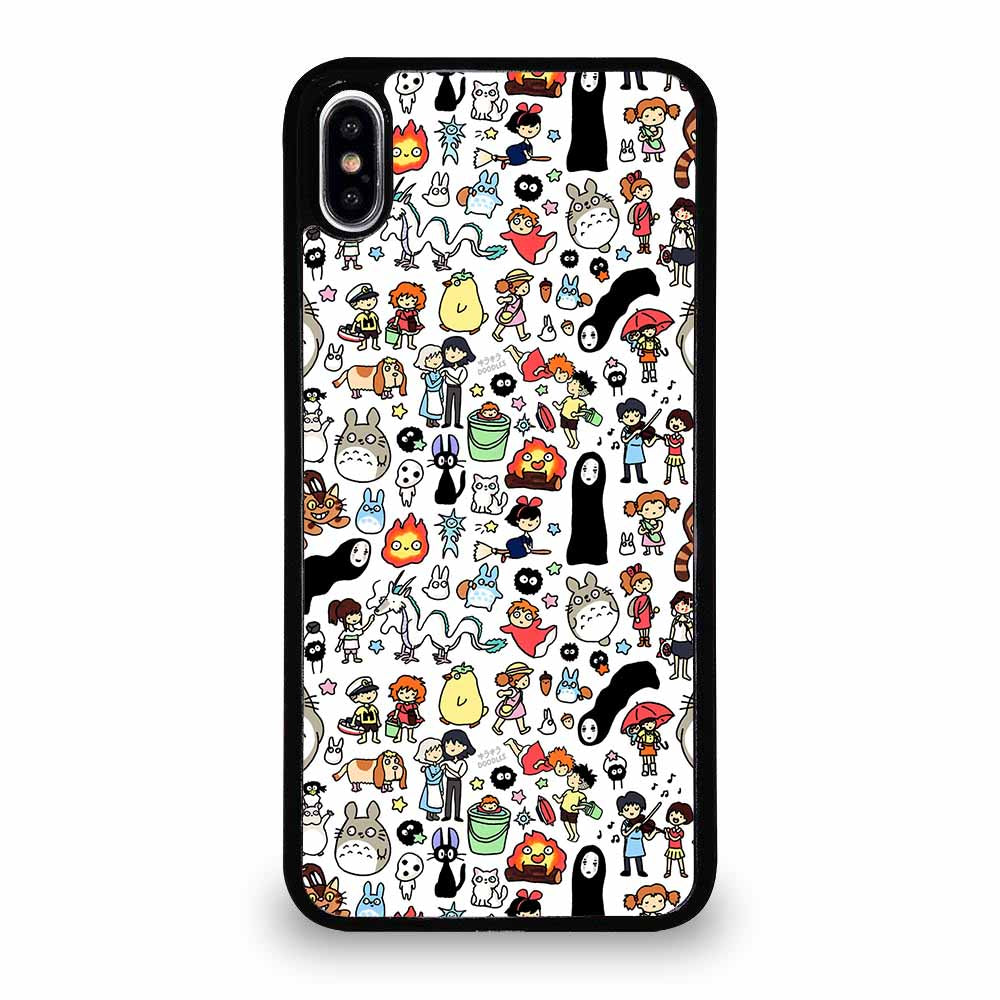 NEW GHIBLI CHARACTERS TOTORO iPhone XS Max Case