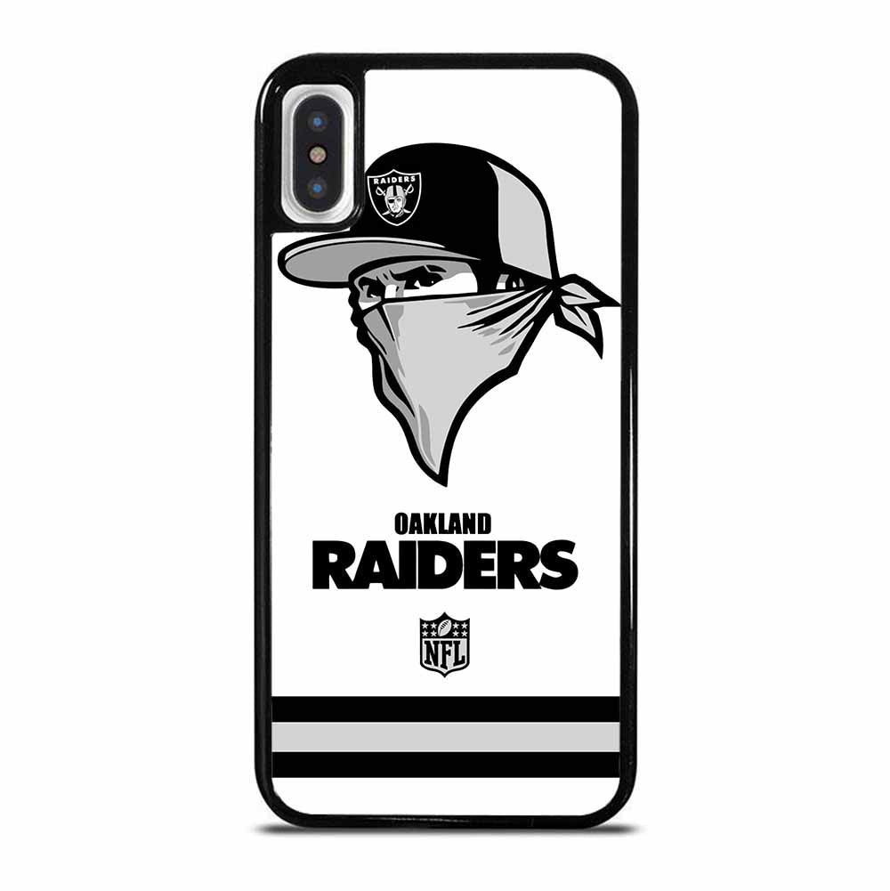 OAKLAND RAIDERS LOGO iPhone X / XS Case