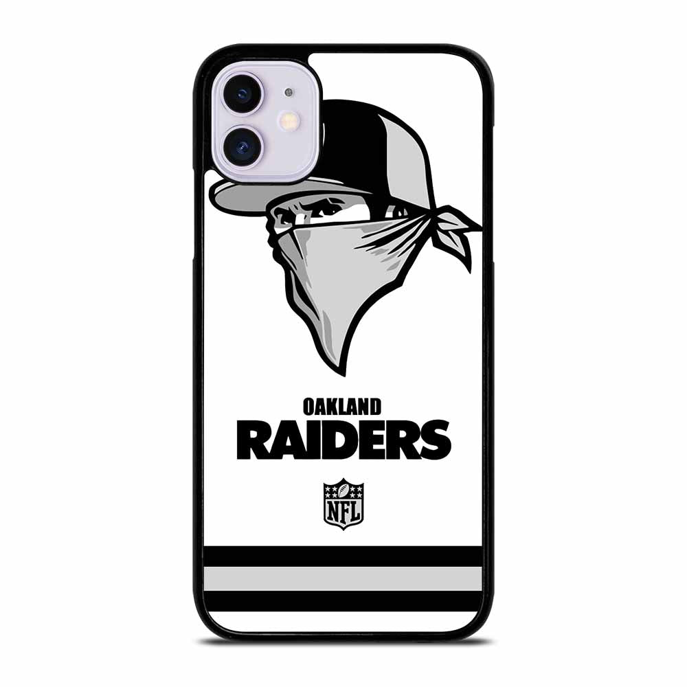 OAKLAND RAIDERS LOGO iPhone 11 Case