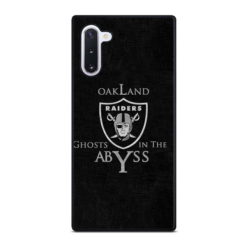 OAKLAND RAIDERS LOGO GHOST ABYSS Samsung Galaxy Note 10 case