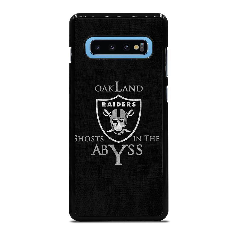OAKLAND RAIDERS LOGO GHOST ABYSS Samsung Galaxy S10 Plus case