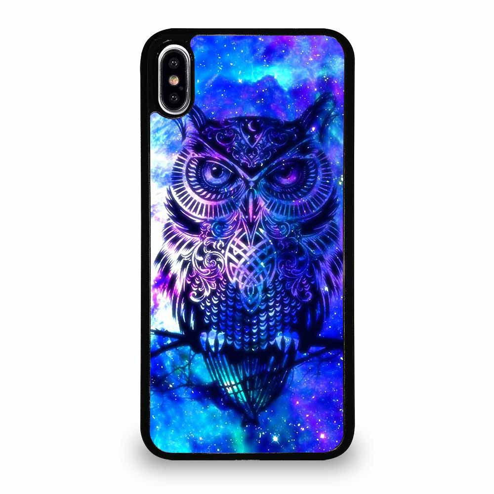 OWL BLUE GALAXY iPhone XS Max Case