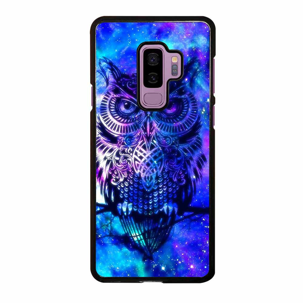 OWL BLUE GALAXY Samsung Galaxy S9 Plus Case