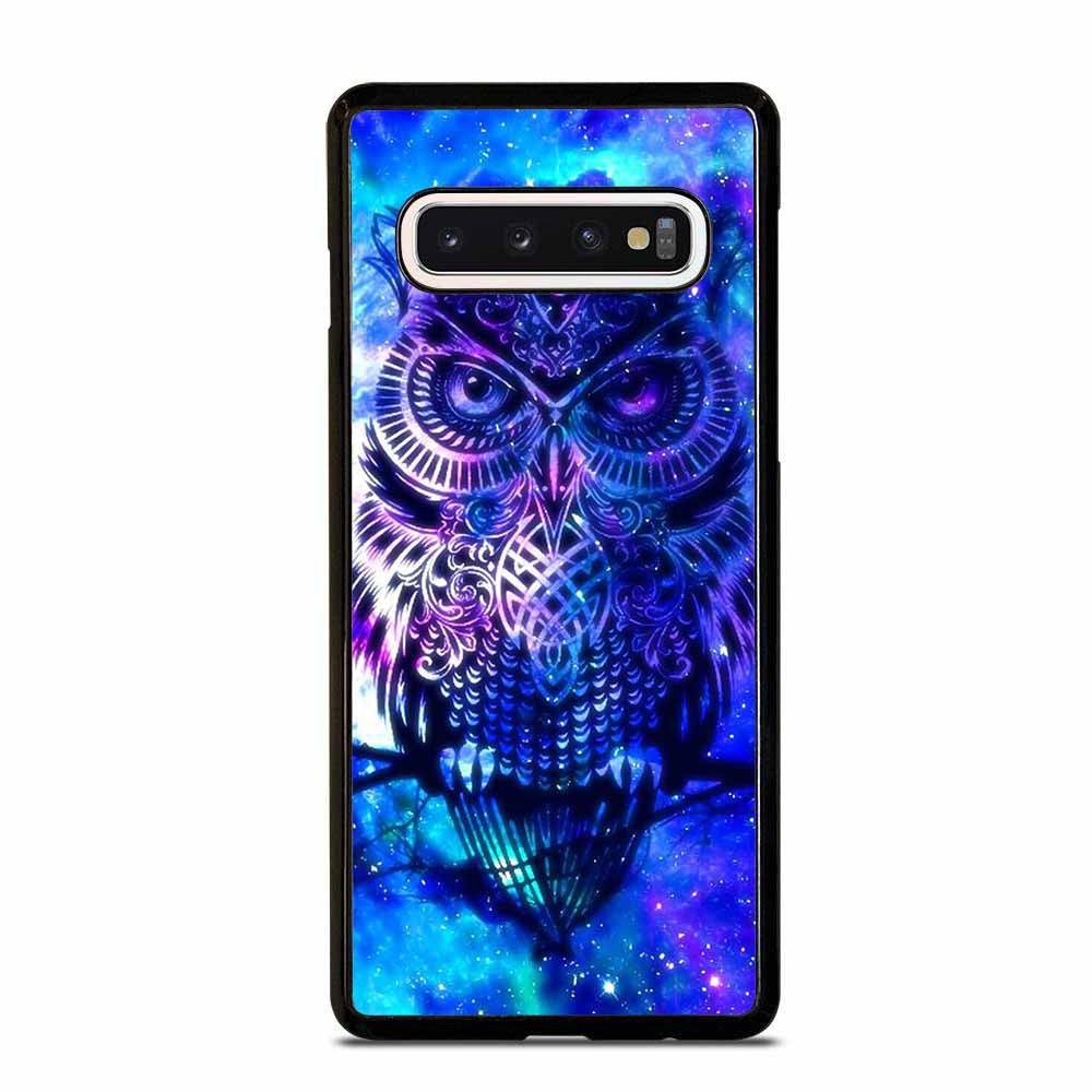 OWL BLUE GALAXY Samsung Galaxy S6 S7 Edge S8 S9 S10 Plus 5G S10e Note 8 9 10 Case Samsung Galaxy S6 S7 Edge S8 S9 S10 Plus 5G S10e Note 8 9 10 Case