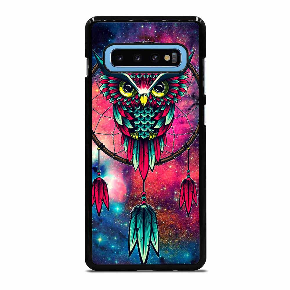 OWL GALAXY CUTE 1 Samsung Galaxy S10 Case