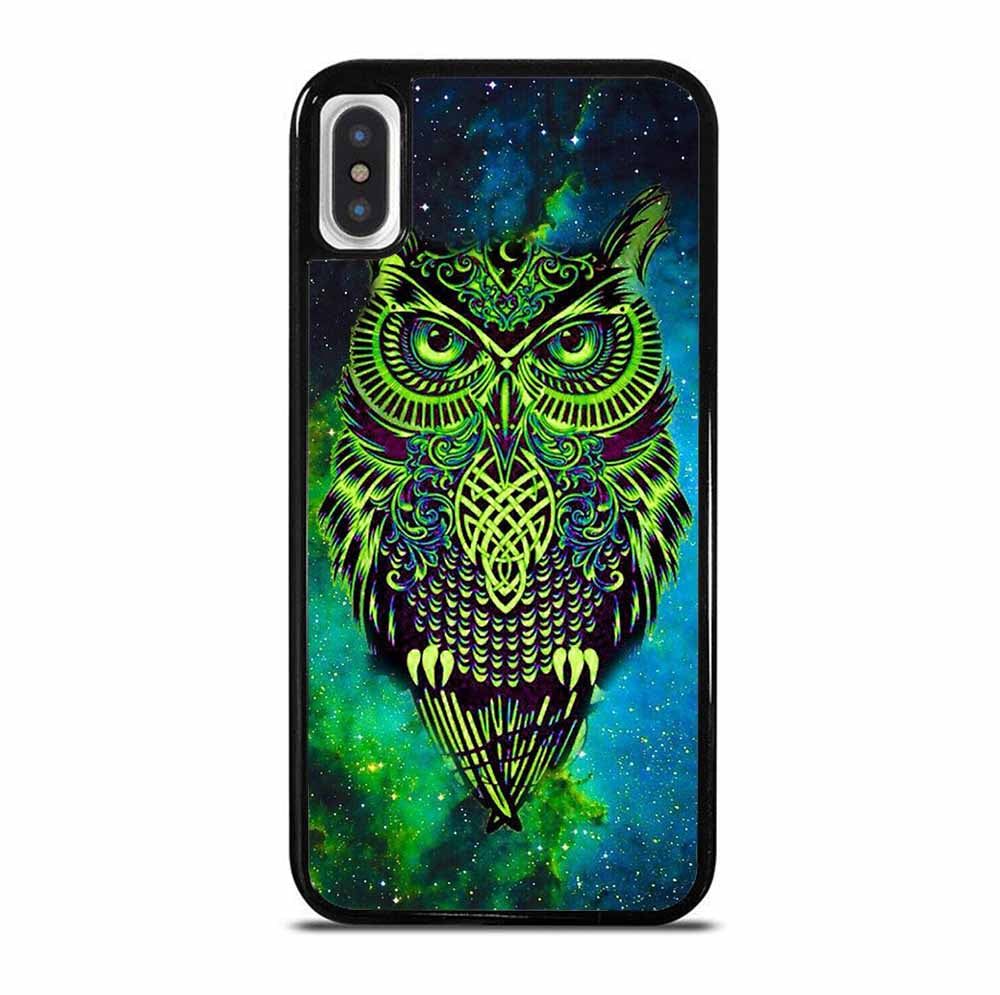 OWL GREEN iPhone X / XS Case