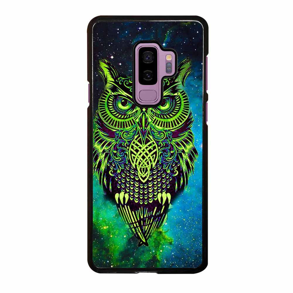OWL GREEN Samsung Galaxy S9 Plus Case
