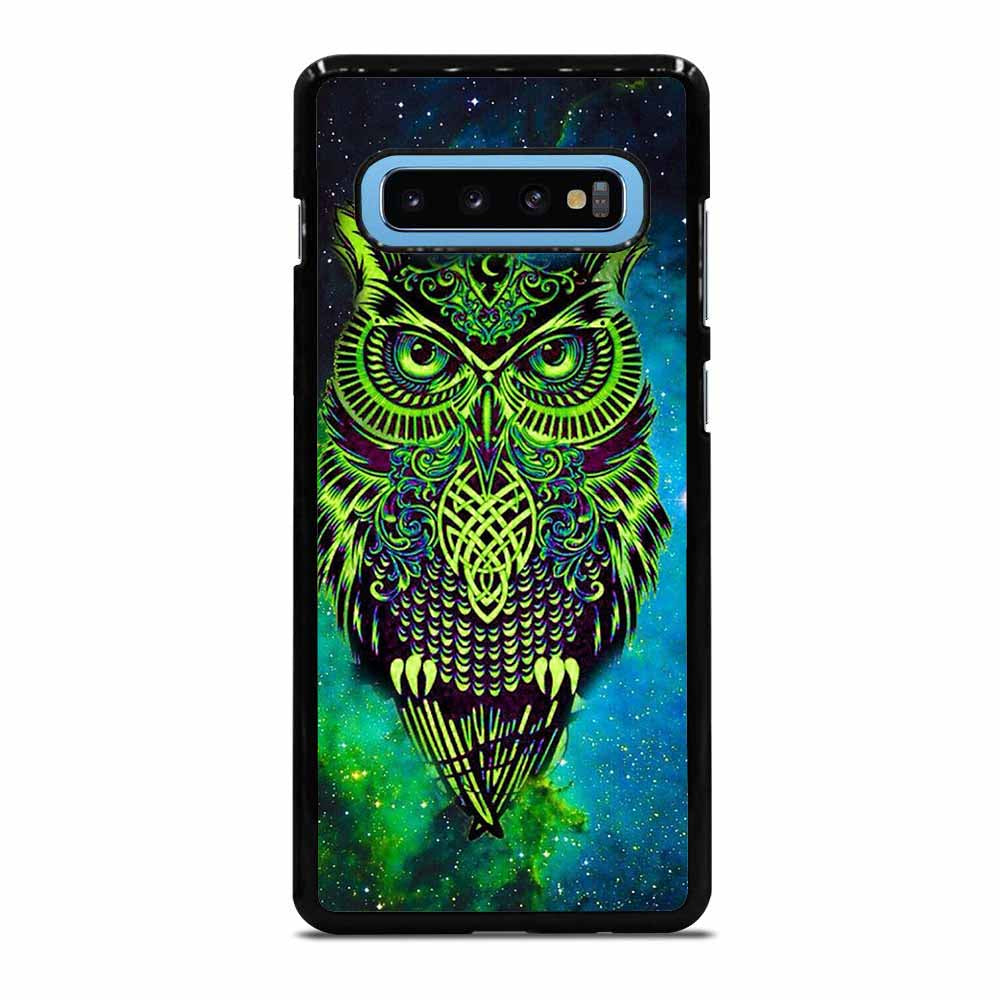 OWL GREEN Samsung Galaxy S10 Plus Case