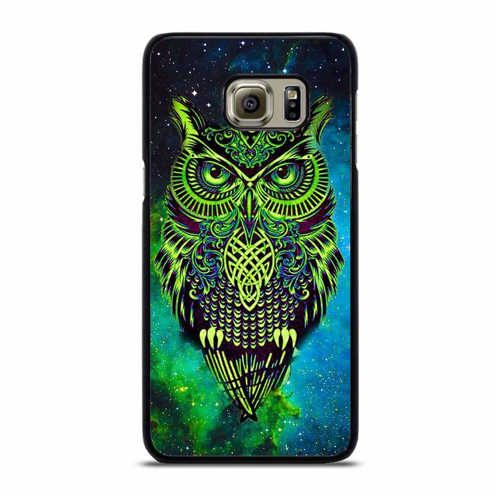 OWL GREEN Samsung Galaxy S6 Edge Case