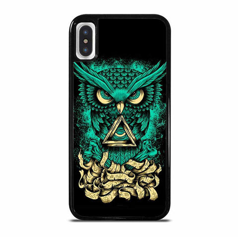 OWL GREEN 1 6/6S 7 8 Plus X/XS Max XR 11 Pro Case