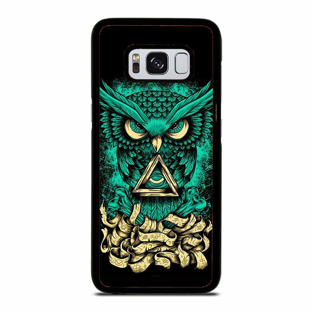 OWL GREEN 1 Samsung Galaxy S8 Case