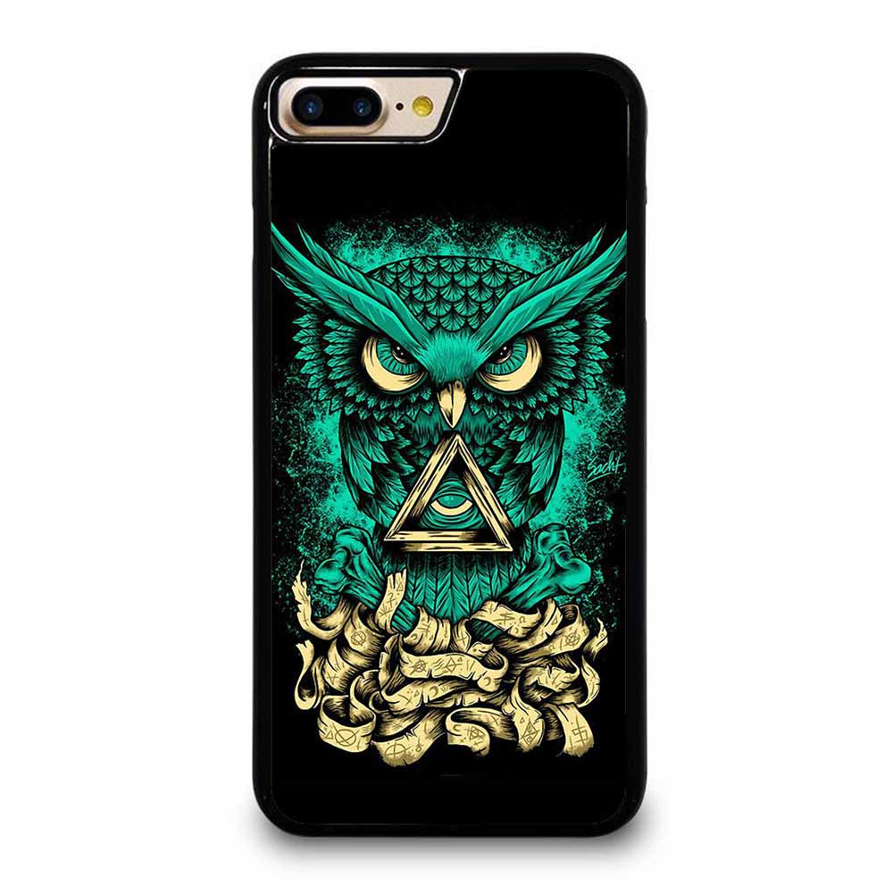 OWL GREEN 1 iPhone 7 / 8 Plus Case