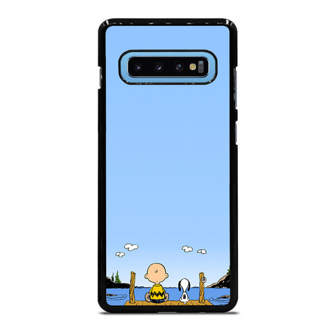 PEANUTS CHARLIE BROWN SNOOPY 1 Samsung Galaxy S10 Plus case