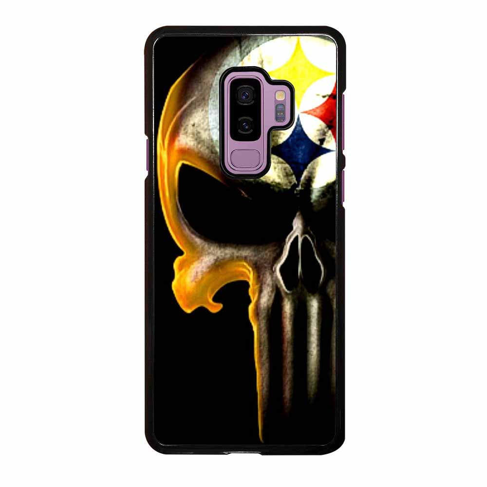 PITTSBURGH STEELERS PUNISHER LOGO Samsung Galaxy S9 Plus case