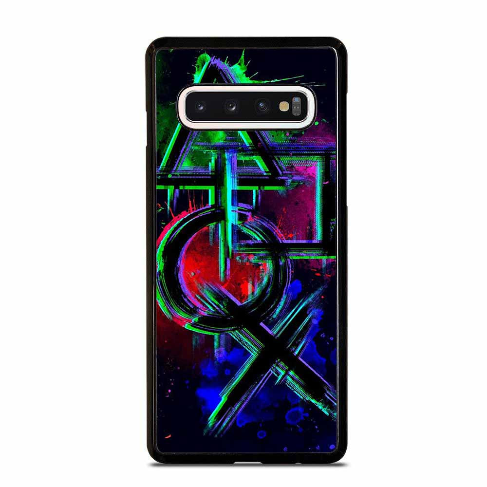 PLAYSTATION BUTTON Samsung Galaxy S10 Case