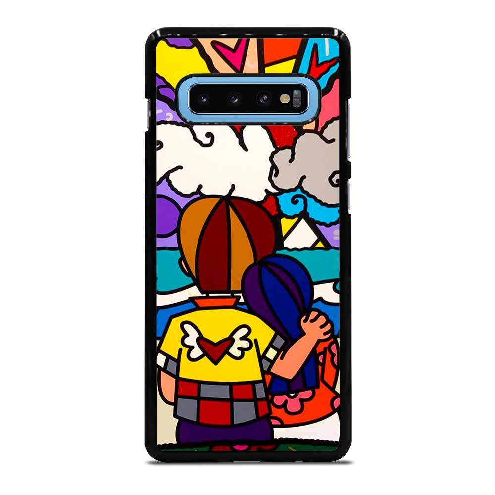 POP ART ROMERO BRITTO Samsung Galaxy S10 Plus case