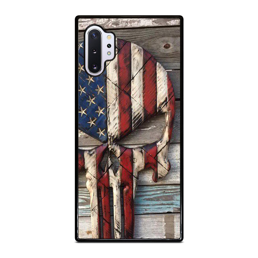 PUNISHER LOGO WOODS Samsung Galaxy Note 10 Plus case