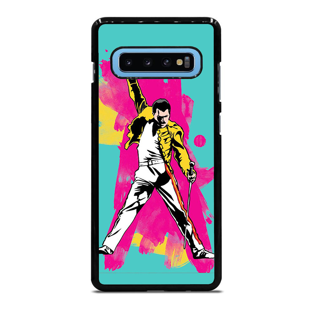 QUEEN FREDDIE MERCURY ART Samsung Galaxy S10 Plus case