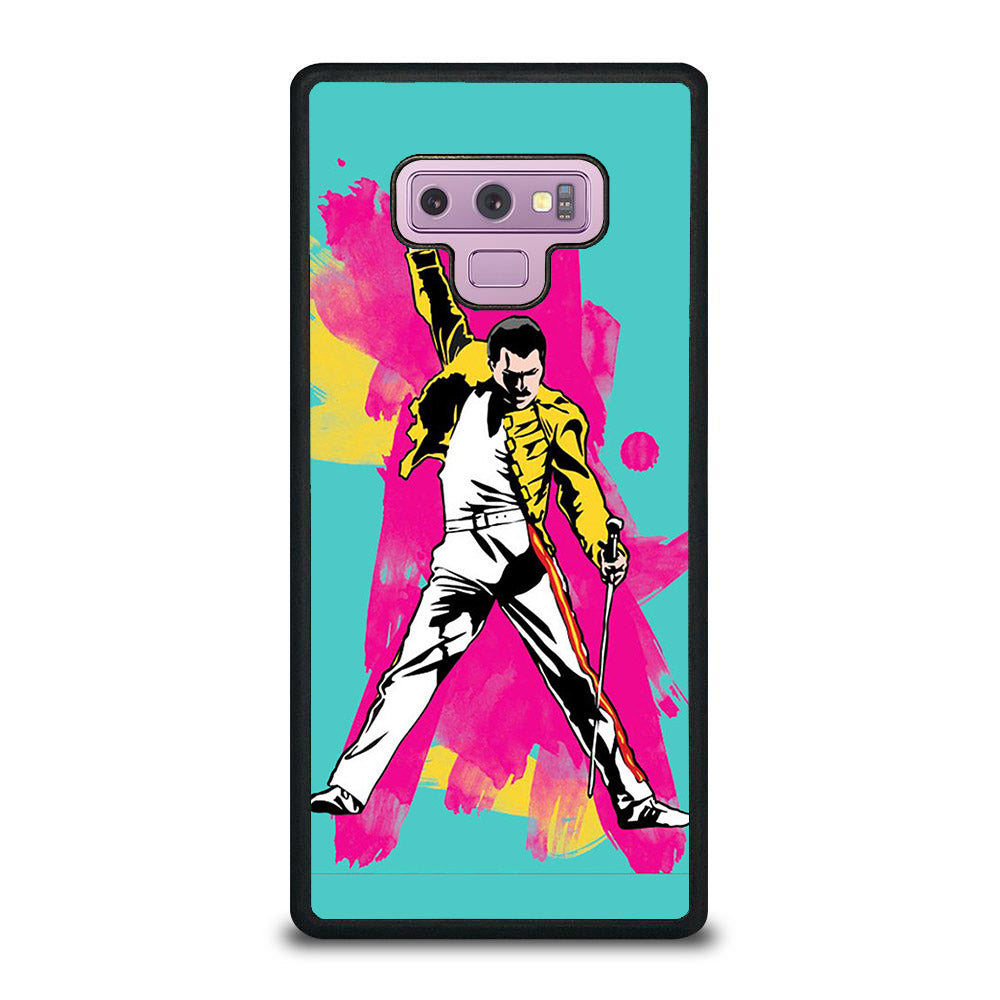 QUEEN FREDDIE MERCURY ART Samsung Galaxy Note 9 case